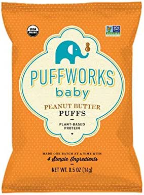 Baby & Toddler Snacks: Puffworks Organic Baby Puffs