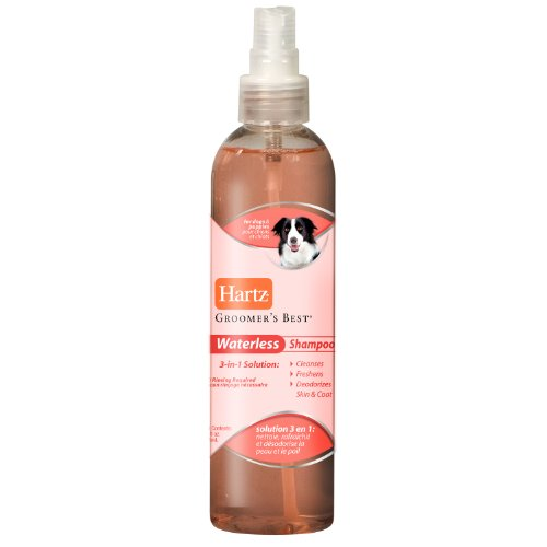 Hartz Groomers Best Waterless Shampoo for Dogs, 3 in 1 Solution, My Pet Supplies