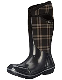 Bogs Women's Plimsoll Plaid Tall Snow Boot