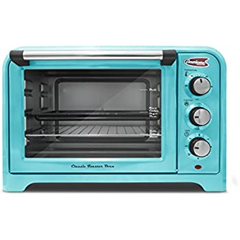 Americana  ERO-2600BL  Americana Collection Retro 6 Slice Toaster oven, Blue