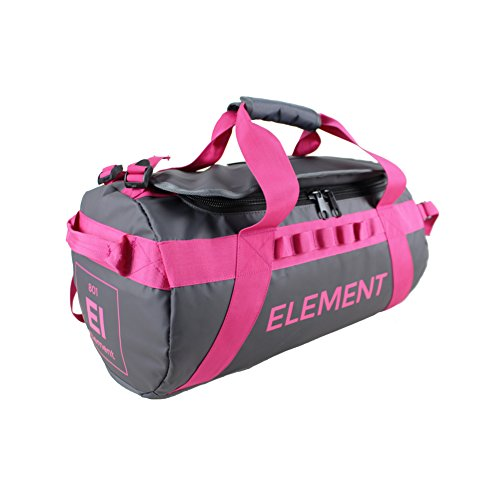 Element Equipment Trailhead Duffel Bag Shoulder Straps Waterproof Grey Medium (Flap Bomber Bag)