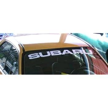 Amazoncom Subaru Subieflow Windshield Banners Windshield Decals - Car window vinyl graphics