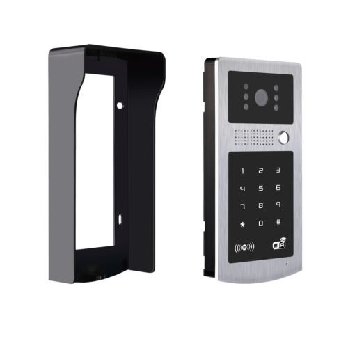 Lock Door With Wifi Wireless Video Intercom Waterproof RFID Keypad Doorbell Camera Strike Lock
