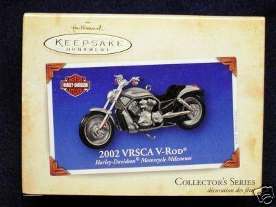 2004 Hallmark Ornament 2002 VRSCA V Rod Harley Davidson - Hallmark Harley Davidson