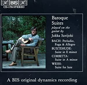 Baroque Suites Plays on the Guitar