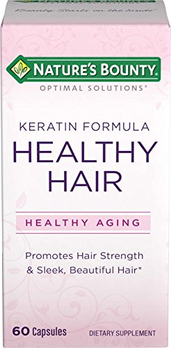 - Nature's Bounty Optimal Solutions Healthy Hair Keratin Formula, 60 Capsules