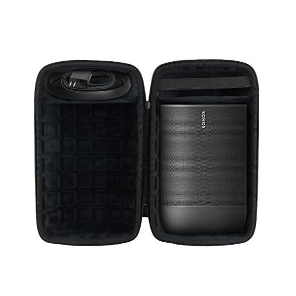 co2CREA Voyage Stockage Porter Étui Housse Case pour Sonos Move Enceinte Bluetooth 1