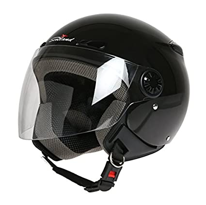 Amazon.es: Scotland D/Jet - Casco con Visera Larga, Negro ...