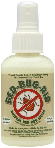Bed Bug Rid Travel Size Manual Pest Spray Bottle, 3-Ounce (Bed Bug For Spray Travel)
