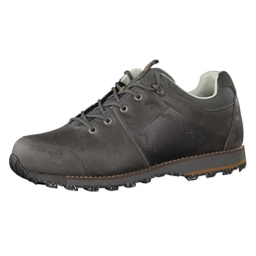 Mammut Alvra Low Leather Casual Shoe - Mens-Dark 3020-5820-91-US 13