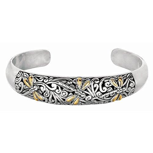 Argent 925/1000-Or Jaune 18 Carats-Fancy-Bracelet Bracelet-JewelryWeb