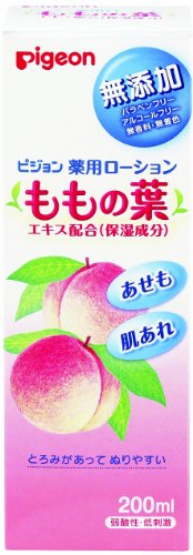 200 Peach - Pigeon Medicated Lotion (Leaves of Peach) 200ml (Quasi-drug) (0 Months To) (Japan)