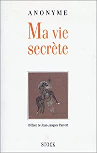 Ma vie secrète par Mathias Pauvert