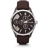 Men's ME1123 Analog Display Japanese Automatic Brown Watch