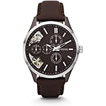 Fossil Men's ME1123 Analog Display Japanese Automatic Brown Watch