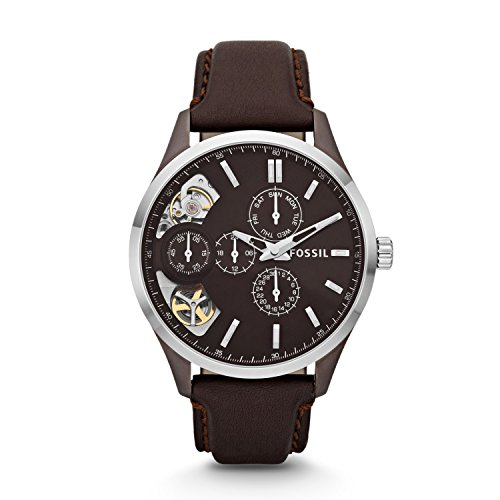 Twist Automatic Watch (Fossil Men's ME1123 Analog Display Japanese Automatic Brown Watch)