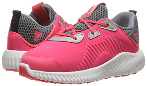adidas Kids' Alphabounce Sneaker, Shock Red/White/Tech Grey Fabric, 6 M US Infant by adidas (Image #6)