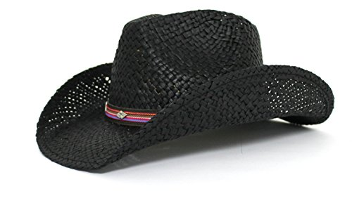 peter-grimm-gold-coast-sunwear-western-straw-cowboy-hat-black-with-multicolored-band