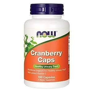 NOW  Cranberry Caps, 100 Capsules