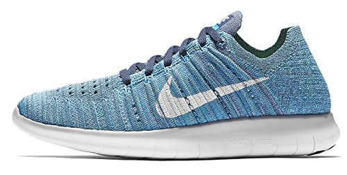 Nike Women's Free RN Flyknit Running Sneakers from Finish (Marathon Natural Finish)