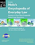 Nolo's Encyclopedia of Everyday Law, Shae Irving and Kathleen Michon, 0873379764