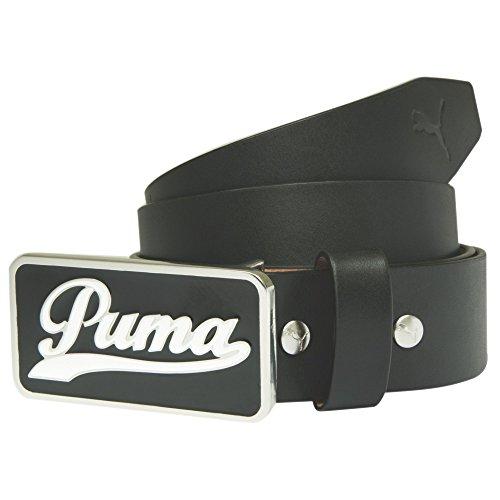 New 2015 Puma Golf Script Fitted Belt COLOR: Black SIZE: Large