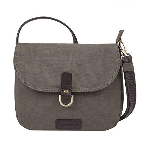 Travelon: Anti-Theft Courier Saddle Crossbody Bag
