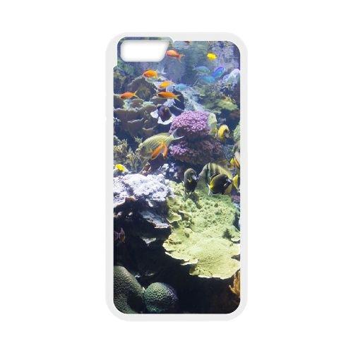 Fish Filled Aquarium coque iPhone 6 4.7 Inch Housse Blanc téléphone portable couverture de cas coque EOKXLLNCD09796