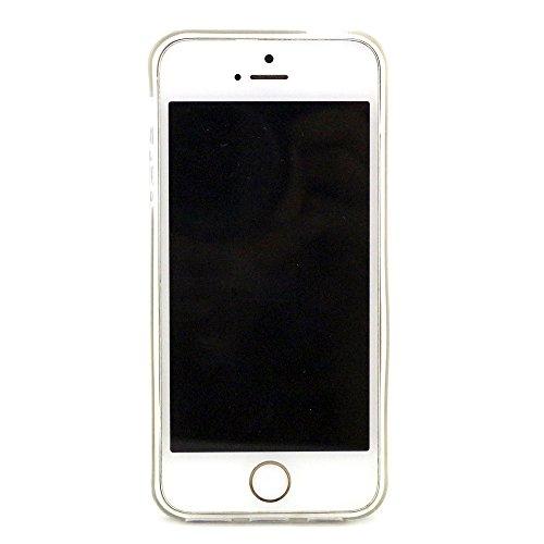 Coque Pour Apple iPhone 6 6S 4.7'',Remidy noir éléphant Souple TPU Gel Silione Protection Téléphone Housse Étui Pour Apple iPhone 6 6S 4.7''