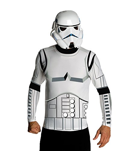 Adult-Costume Stormtrooper Top & Mask Adult Costume Lg Halloween Costume (Storm Trooper Sexy)