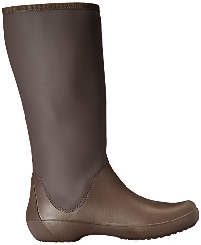Rainfloe Crocs Rain Boot Women's Tall Espresso Aqqra5w