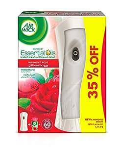 Airwick Air Freshener Freshmatic Auto Spray Midnight Rose - Gadget and 1 Refill, 250ml