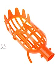SimpleLife Plastic Fruit Picker Without Pole Fruit Collector Gardening Picking Tool 1 Piece Orange