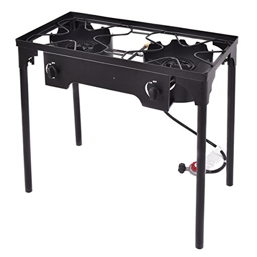 double burner gas stove - 1