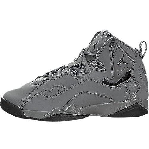614a01df451 ... low price nike jordan kids jordan true flight bg cool grey black  basketball shoe 6.5 kids