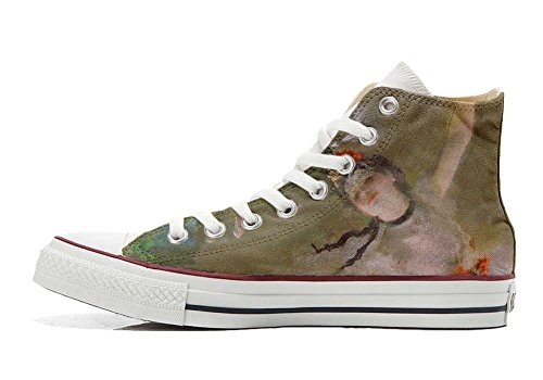 artisanal Fata produit Star Imprimés Personnalisé Unisex Italien et Regina chaussures coutume All Converse Hi Sneaker TxqpUU