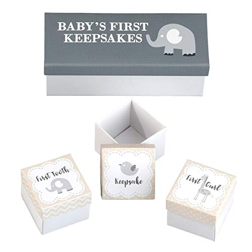 Lillian Rose 3 Piece Baby's First Keepsakes ()