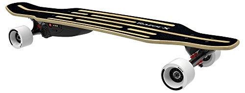 Razor Kids' Longboard Electric Skate Board, Black,...