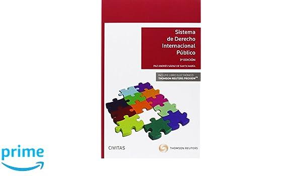 Sistema De Derecho Internacional Público Sistemas de Derecho y Economía: Amazon.es: A Paz Andrés Sáenz: Libros