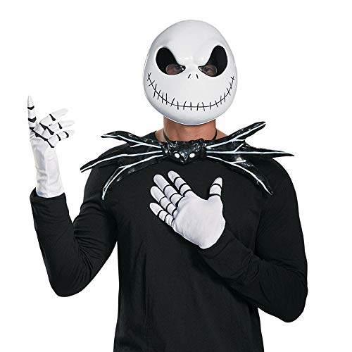 (Disguise Jack Skellington Adult Costume Kit-One Size)