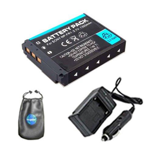 Amsahr FR1 Digital Replacement Battery PLUS Battery Trave...