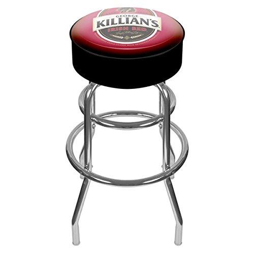George Killian's Irish Red Padded Swivel Bar (Red Irish Bar Stools)