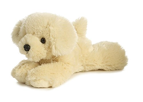 Dog Plush Bailie Golden Retriever Mini Flopsie 8