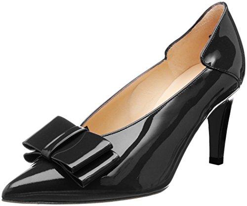 Lack Zapatos 010 Tacón Kaiser con Negro Evora de para Schwarz Punta Mujer Peter Cerrada H4aq7wx