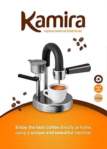 KAMIRA Moka Express 1/2 Cups Stovetop Espresso Maker, The perfect Women's Day gift. !