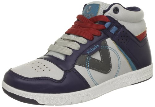Femmes Victoria Chaussures Sneaker Pu Montantes Multicolor marino Bleu wqr1tXr