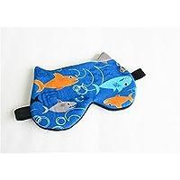 Kids Eye mask, Boys Sleep mask, Sharks Sleep Mask,Travel sleep mask.