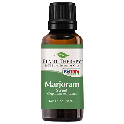 - Plant Therapy Marjoram Sweet Essential Oil | 100% Pure, Undiluted, Natural Aromatherapy, Therapeutic Grade | 30 Milliliter (1 Ounce)