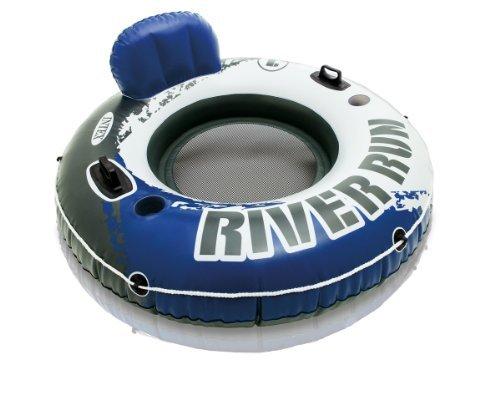 Intex River Run 1 Inflatable Floating Tube Raft for Lake, River, & Pool (4 Pack) by Intex (Image #1)