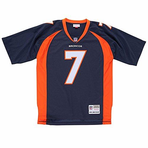 John Elway Denver Broncos Navy Throwback Jersey X-Large